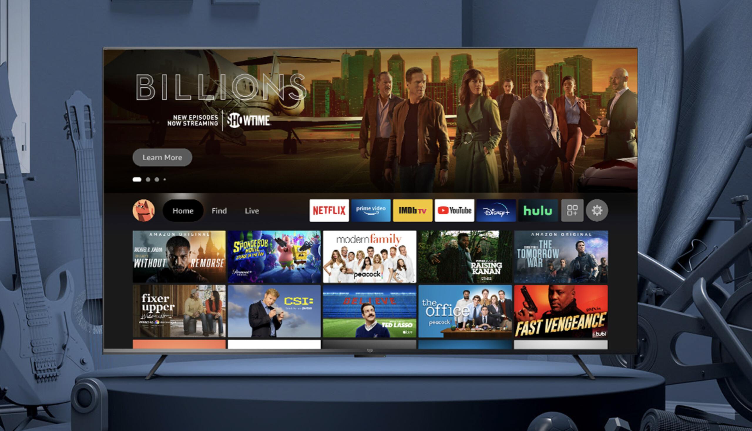 Fire TV Omni et Serie 4 : voici les téléviseurs d'Amazon