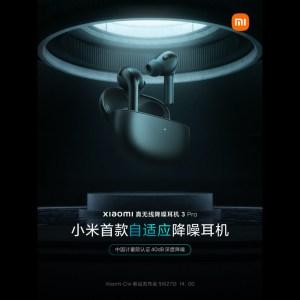 Xiaomi va bientôt dévoiler ses «premiers écouteurs antibruit adaptatifs»