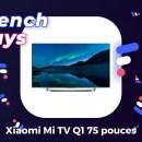 L'énorme TV premium 75 pouces de Xiaomi est au meilleur prix pour les French Days