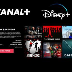 Disney+ est de retour dans le catalogue de Canal+ avec une offre dédiée à 20,99€/mois