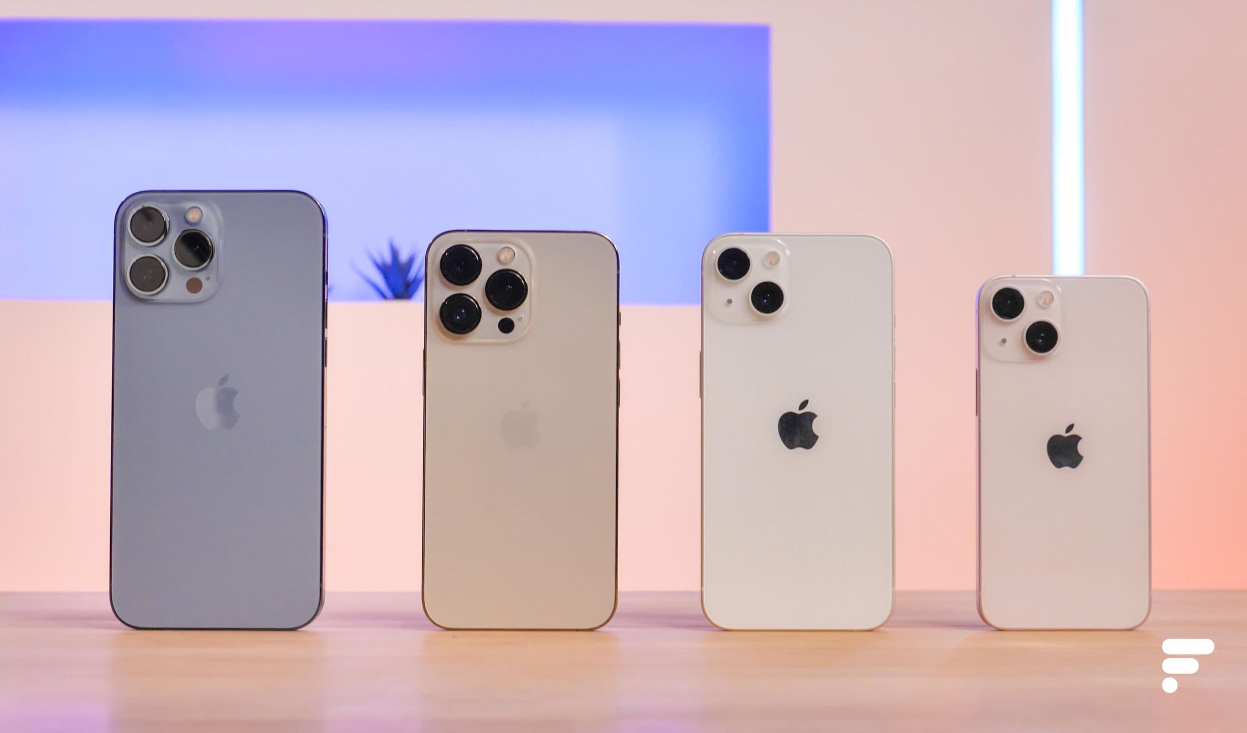 Apple forcé de diminuer la cadence: l'iPhone13 va se faire plus rare