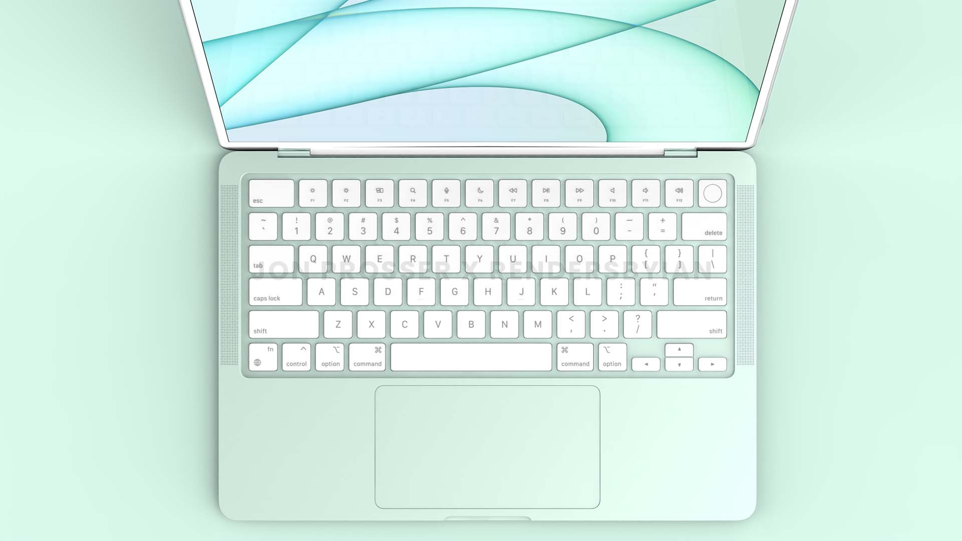 Apple MacBook Air 2022 : un design inspiré du MacBook Pro et de l'iMac M1