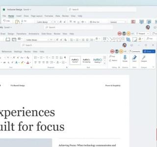 Microsoft Office 2021 est là : Word et Excel à la sauce Windows 11