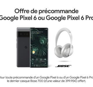 Pixel 6 et 6 Pro : il est encore possible d'avoir le Bose Headphones 700 offert