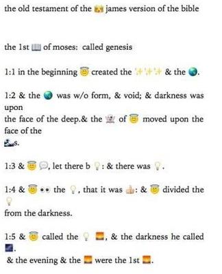 emojis bible