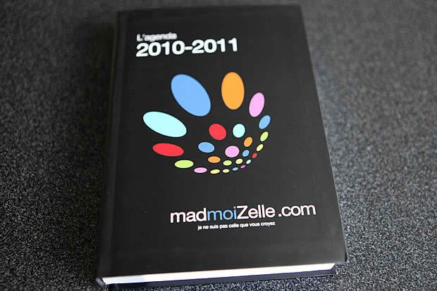 Les agendas madmoiZelle.com 2010-2011 sont là !