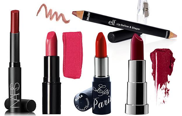 shopping rouges à lèvres foncés