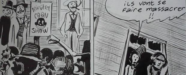 «Blackface Banjo », une BD musicale par Frantz Duchazeau – Interview