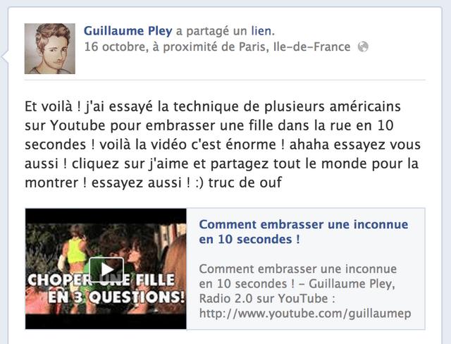 Une pétition pour que Guillaume Pley retire sa vidéo