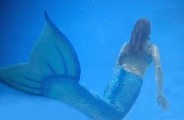 Mon quatrième costume, fait en silicone (© GRG Underwater Photography)
