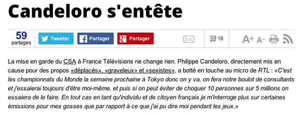 Une « mise en garde ferme » du CSA à France Télé pour son sexisme