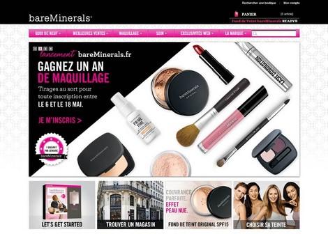 bareMinerals ouvre son e-shop français !