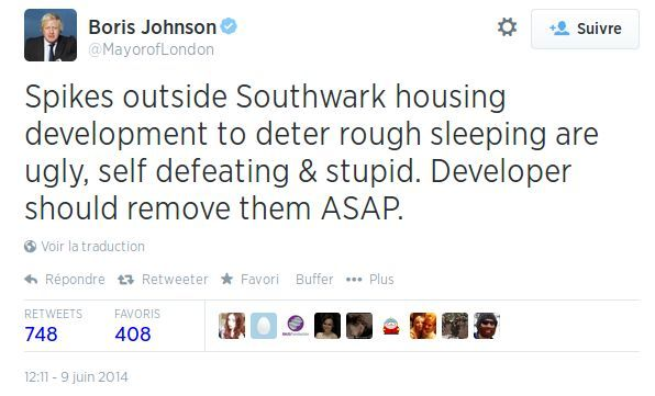 L'urbanisme « anti-SDF » fait scandale… mais pas partout