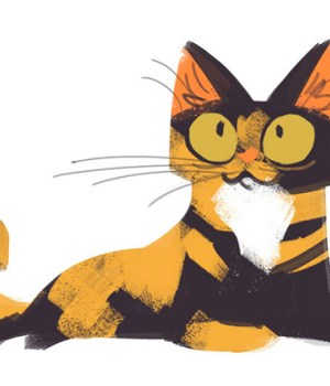 daily-cat-drawings-dessins-chat