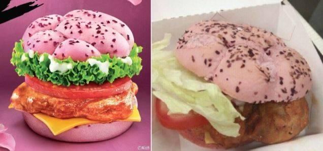 burger rose déception