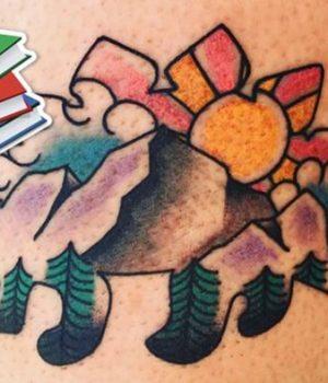 tatouages-bibliotheque-livres