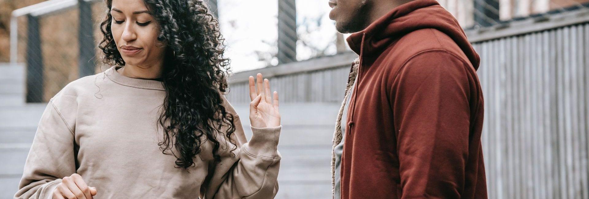 Couple – dispute – rupture – femme – homme