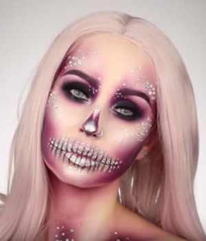 tuto-makeup-halloween-marion-cameleon