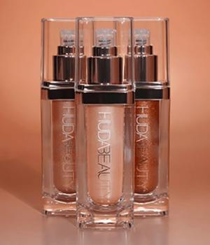 Huda Beauty NYMPH highlighter liquide