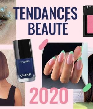 tendances beauté 2020