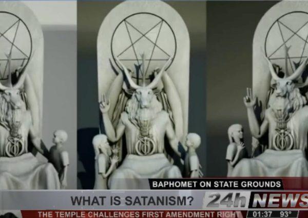 Extrait d'une émission télévisée américaine sur le satanisme