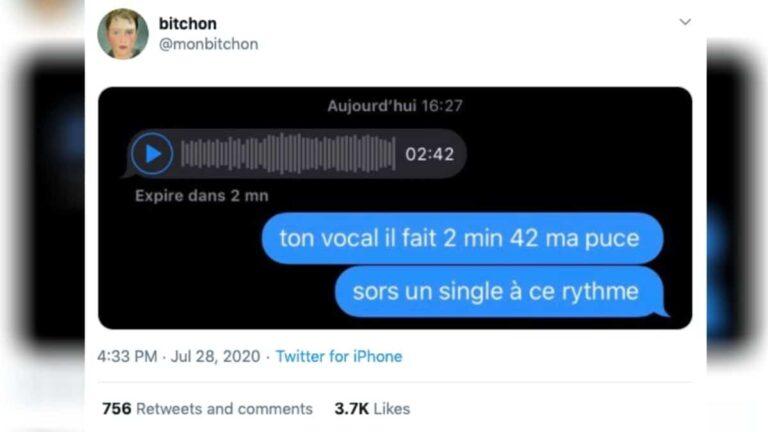 «message-audio-fleau-humour»