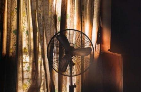 peau-deshydratation-dormir-ventilateur