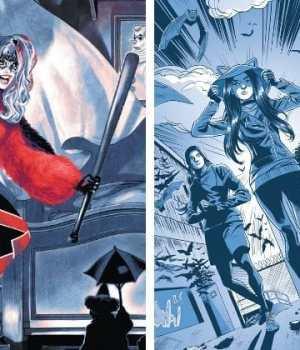 harley-quinn-catwoman-adolescence-comics