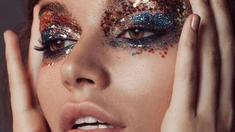 «maquillage-paillettes-fete»