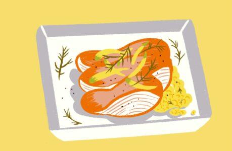 saumon-fenouil