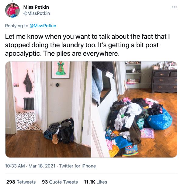 Elle fait la grève des tâches ménagères et ce qui s'est passé ensuite va vous étonner (non)