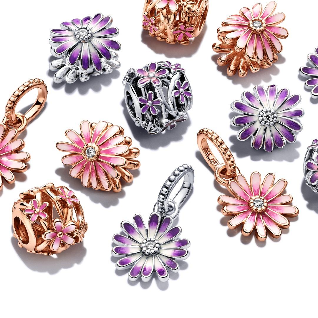 charms de la collection Pandora Garden