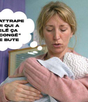 Une mère et son bébé qui vient de naître
