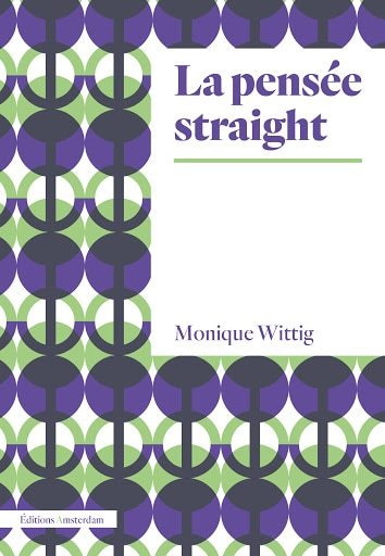 Monique Wittig, La pensée straight