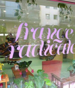 Frange Radicale vitrine