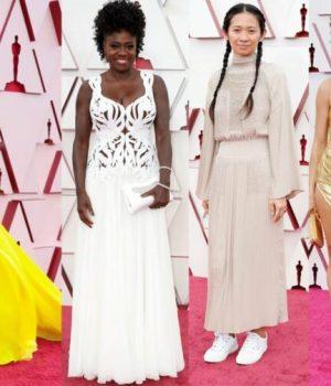 Zendaya, Viola Davis, Chloe Zhao et Andra Day aux Oscars 2021
