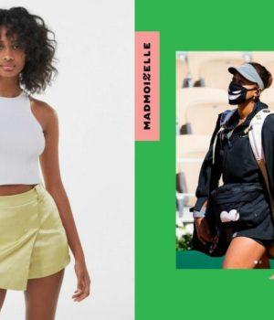 De TikTok à Roland-Garros, la jupe-short s'avère aussi chic que pratique