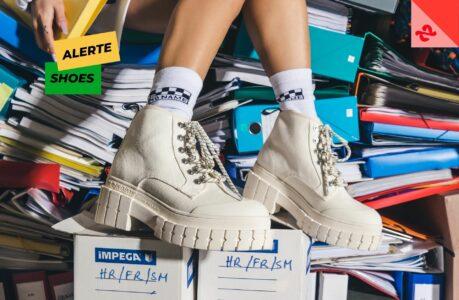 Alerte shoes : dans la hype des rangers à semelle crantée, les Kross Boots de No Name nous font du pied