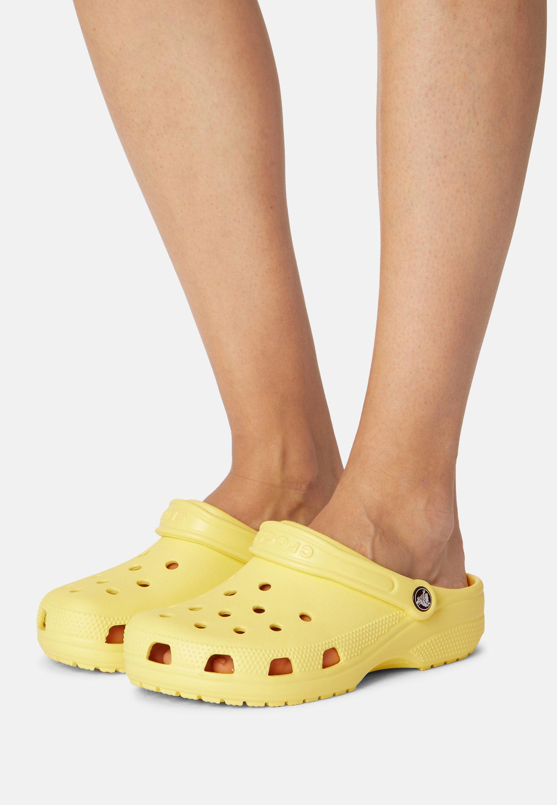 Crocs jaunes unies