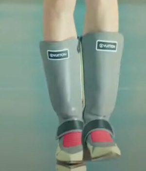 Peut-on parler des bottines so Végéta selon Louis Vuitton ?
