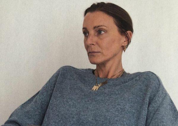 Portrait presse de la créatrice de mode Phoebe Philo