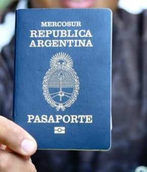 Passeport argentin