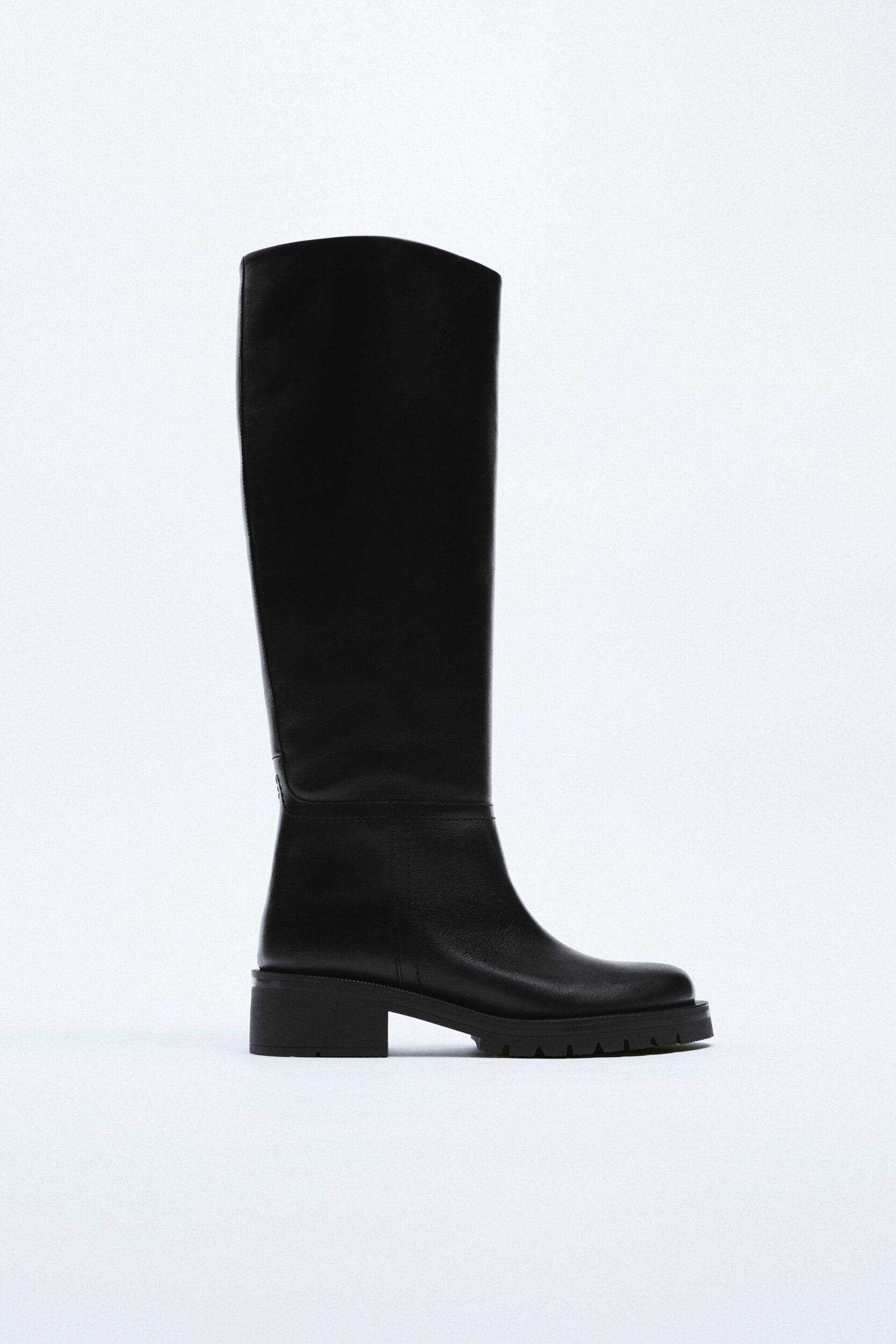 Les chunky boots hautes arrivent en force, pour marcher sur les pieds des relous avec style