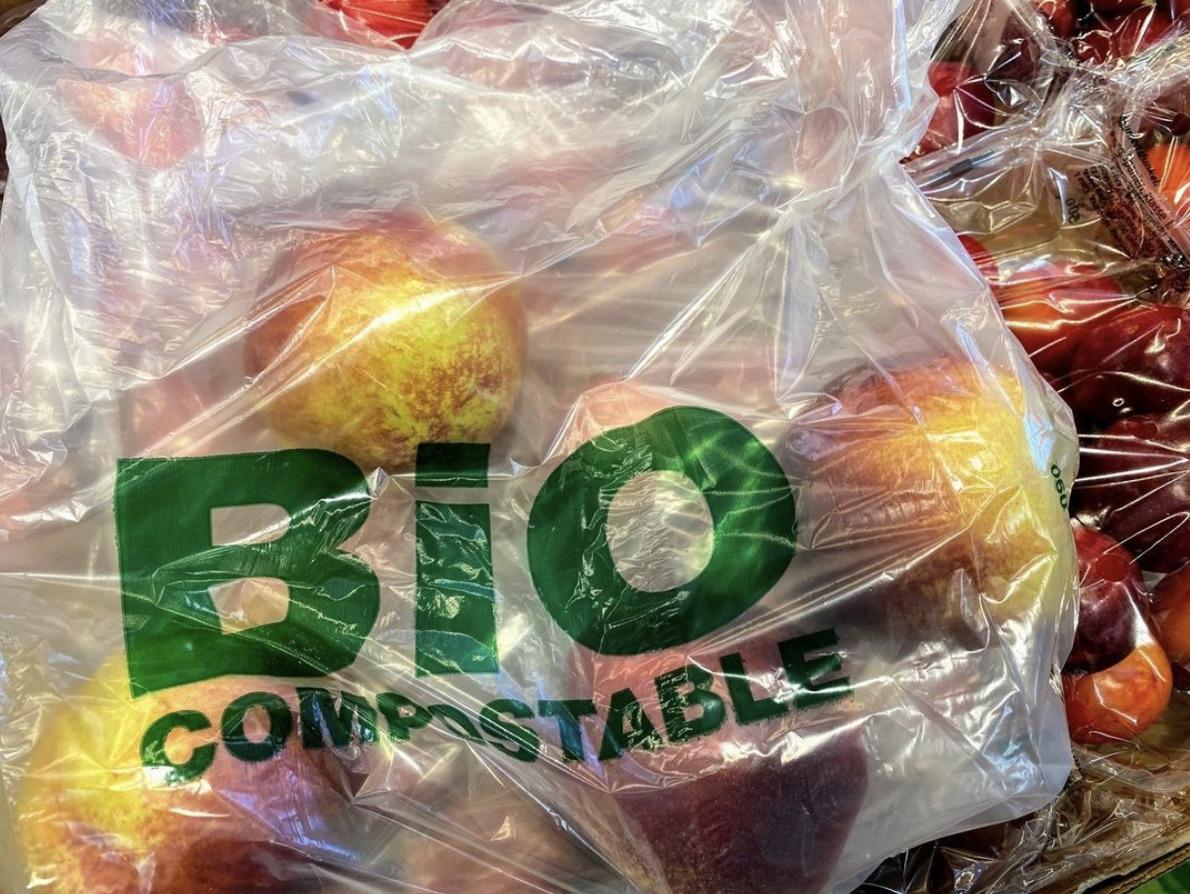 Pommes emballés dans plastique