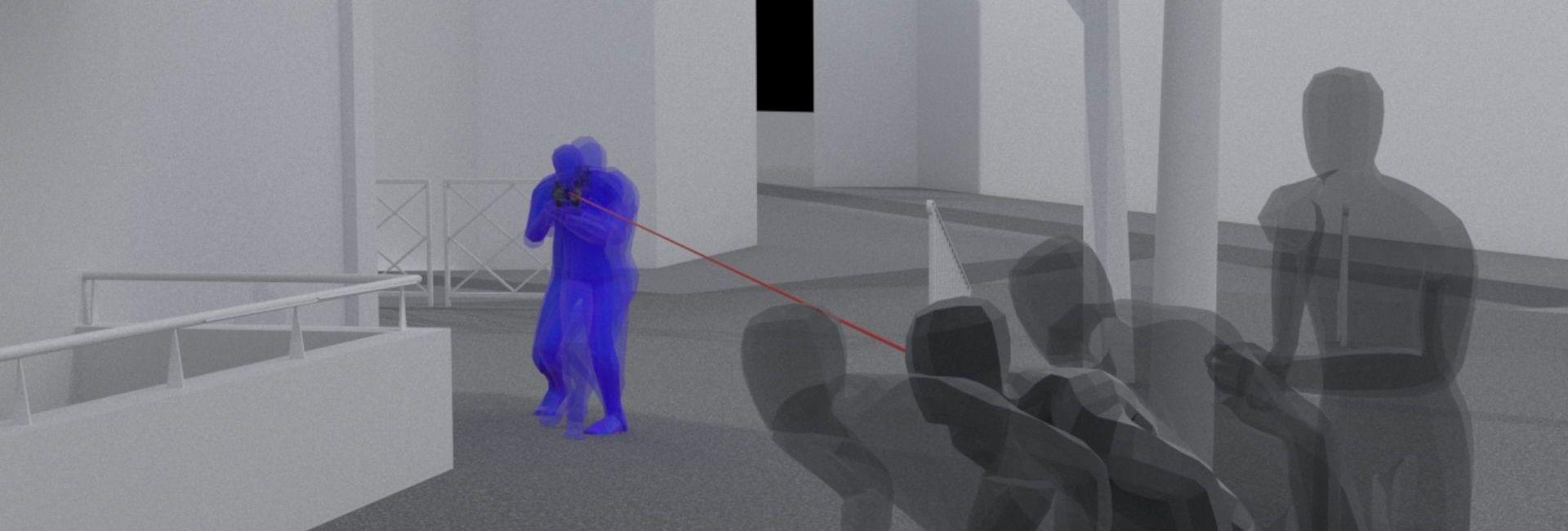 Capture d'écran d'une modélisation 3D créée par Index