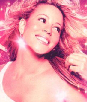 La chanteuse Mariah Carey sur l'affiche de son film Glitter