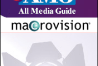 Macrovision s'offre la bible culturelle All Media Guide