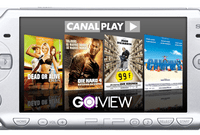 La VOD de CanalPlay accessible sur la PSP de Sony