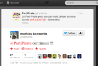 Mathieu Kassovitz encourage le Parti Pirate à continuer
