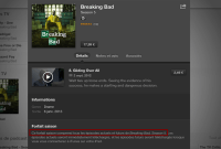 Apple rembourse la demi-saison finale de Breaking Bad